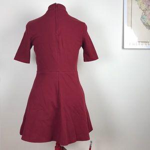 H&M Dresses - H&M Berry Textured Knit Mini Dress size 10
